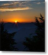 Sunrise Myrtle Point Metal Print