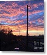 Sunrise Nv15-02 Metal Print