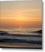 Sunrise Ocean 48 Metal Print