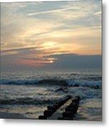 Sunrise Ocean 50 Metal Print