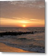 Sunrise Ocean 74 Metal Print