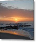 Sunrise Ocean 76 Metal Print