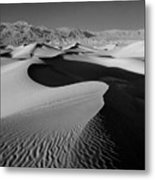 2a6856-bw-sunrise On Death Valley  Metal Print