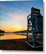 Sunrise On Eighth Lake 1 Metal Print
