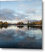 Sunrise On Fourth Lake Metal Print