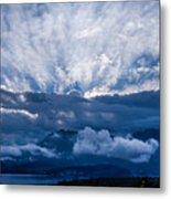 Sunrise On Lake Annecy Metal Print