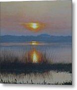 Sunrise On Lake Hollingsworth Metal Print