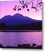 Sunrise On Lake Shasta Metal Print
