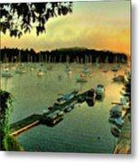 Sunrise On Mallet's Bay Metal Print