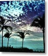 Sunrise On Miami Beach Metal Print