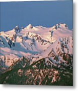 1m4120-sunrise On Mt. Olympus  Metal Print