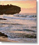 Sunrise On Shipwreck Beach Metal Print
