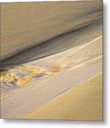 Sunrise On Stream-1-st Lucia Metal Print