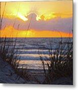 Sunrise On The Atlantic Metal Print