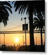 Sunrise On The Bay Metal Print
