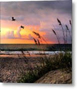 Sunrise On The Beach 02 Metal Print
