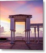 Sunrise On The Caribbean Metal Print