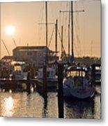 Sunrise On The Eastern Shore Of Maryland Metal Print