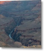 Sunrise On The Grand Canyon Metal Print
