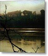 Sunrise On The Hudson River, No. 14 Metal Print