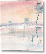 Sunrise On The Lagoon Ccxv Metal Print