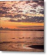 Sunrise On The Shore  Metal Print
