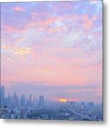 Sunrise Over Bangkok Metal Print