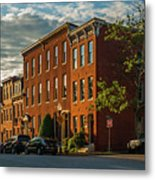 Sunrise Over Federal Hill Metal Print