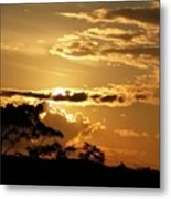 Sunrise Over Fort Salonga4 Metal Print