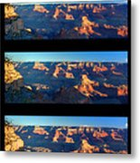 Sunrise Over Grand Canyon Metal Print