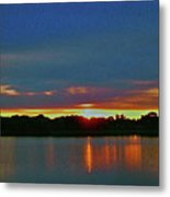 Sunrise Over Ile-bizard - Quebec Metal Print