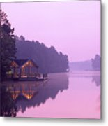 Sunrise Over Lake Jeanette. Metal Print