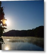 Sunrise Over Lake Lainer Metal Print