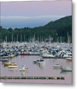 Sunrise Over Mallets Bay Panorama - Two Metal Print