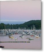 Sunrise Over Mallets Bay Variations - Two Metal Print