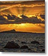 Sunrise Over Rabbit Head Island Metal Print