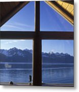 Sunrise Over Resurrection Bay From Salt Metal Print