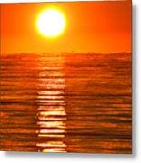 Sunrise Over The Lake 2 Metal Print