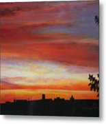 Sunrise Over The Little Miami Metal Print