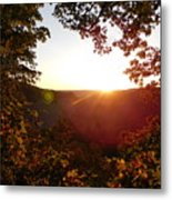 Sunrise Over The Mountain  Metal Print