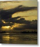 Sunrise Over The Ninth Ward Metal Print
