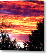 Sunrise Over The S.p. Metal Print