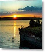 Sunrise Over Wilson Lake Metal Print