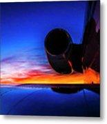 Sunrise Pre Flight Metal Print