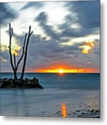Sunrise Punta Cana Metal Print