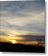 Sunrise River Four Metal Print