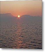 Sunrise Rota Spain Metal Print