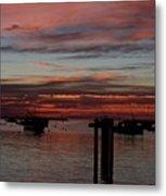 Sunrise Rye Nh Metal Print
