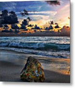 Sunrise Seascape Wisdom Beach Florida C3 Metal Print