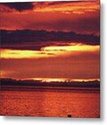 Sunrise Sekiu Washington Metal Print